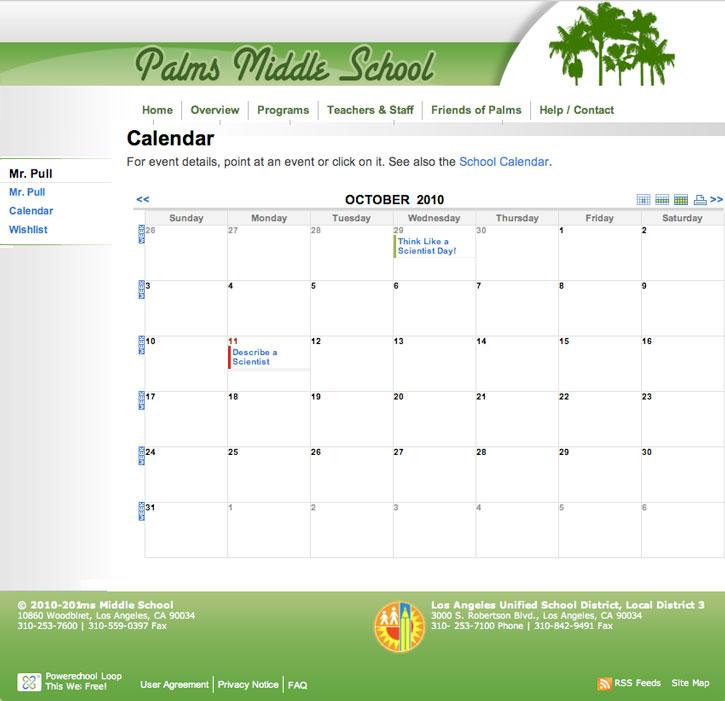 Человек календарь